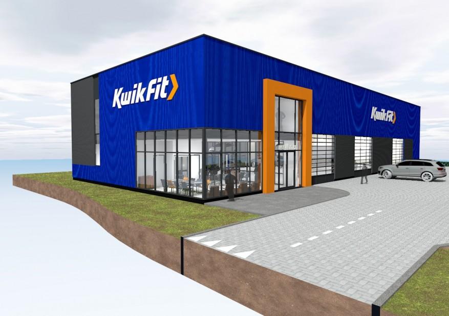 Kwik Fit Almere Buiten.Kwikfit Bouwt Energieneutrale Garage Aftersales Magazine