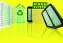 Luchtfilter van  PET-flessen