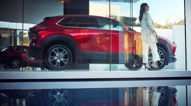 Mazda CX-30 showroom