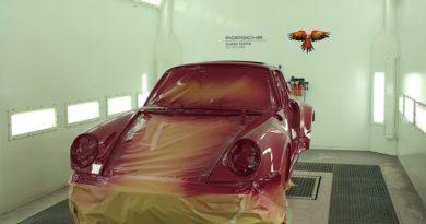 Porsche Classic Center Gelderland repareert met Glasurit